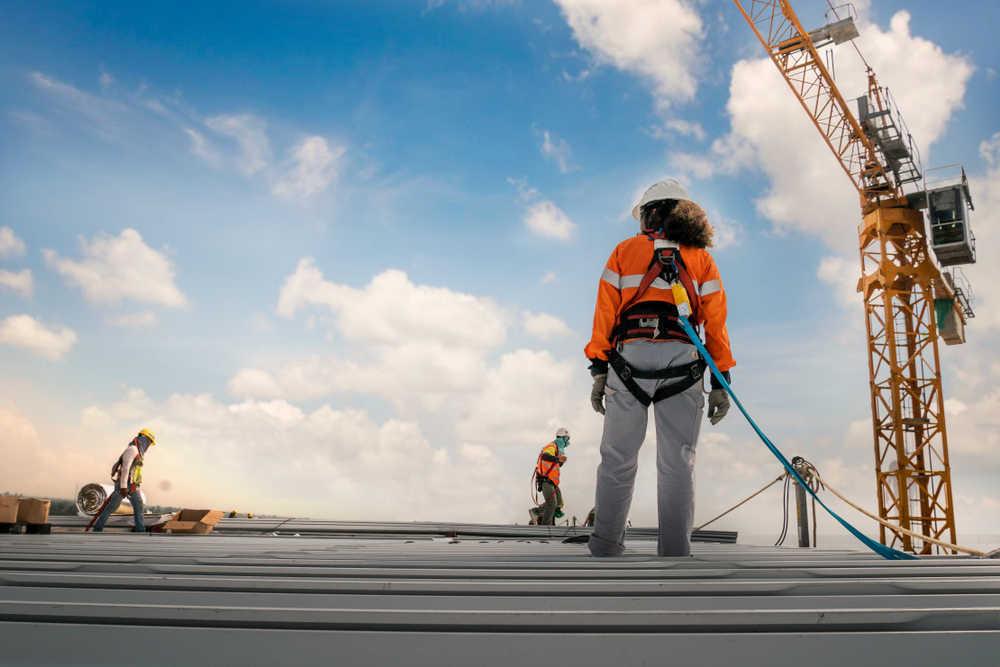 La prevención de riesgos laborales se respeta en la construcción